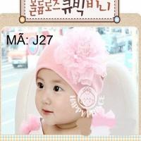 Nón len Hàn Quốc cho bé yêu - J27