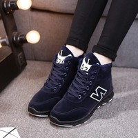 Giày nữ chữ N phong cách Hàn Quốc phù hợp mùa đông - XS0251