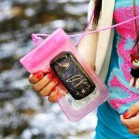 Combo 2 túi chống nước cho điện thoại và máy ảnh