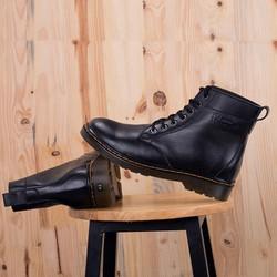 Giày da cao cổ  kiểu dáng cao bồi mạnh mẽ