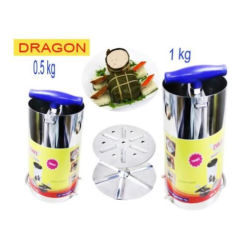 Bộ 2 Khuôn Làm Giò Chả Inox 1kg Và 0.5kg Thương Hiệu Dragon - 3876041 , 2563588 , 15_2563588 , 180000 , Bo-2-Khuon-Lam-Gio-Cha-Inox-1kg-Va-0.5kg-Thuong-Hieu-Dragon-15_2563588 , sendo.vn , Bộ 2 Khuôn Làm Giò Chả Inox 1kg Và 0.5kg Thương Hiệu Dragon
