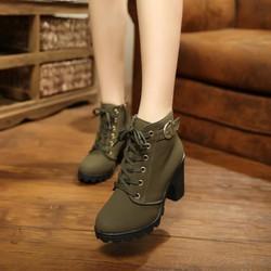 Mã số MM90138 - Boots cổ thấp cá tính, sành điệu
