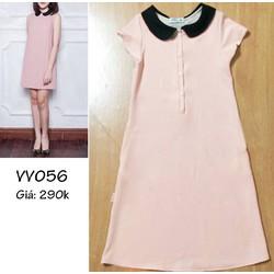 Đầm bầu hồng phấn cực đáng yêu VV056