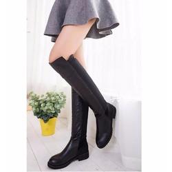 Giày bốt nữ cổ cao sành điệu - Mã số MM90119
