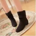 Boots cổ ngắn nữ thời trang, màu sắc trẻ trung, thiết kế mới nữ tính