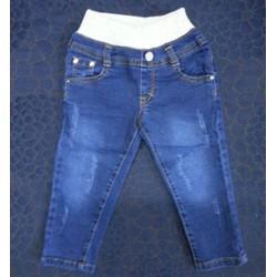 Quần jeans lưng thun cào rách 11-29kg