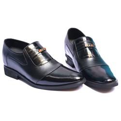Giày da công sở sang trọng, đế tăng chiều cao 6,5cm hoàn toàn bí mật