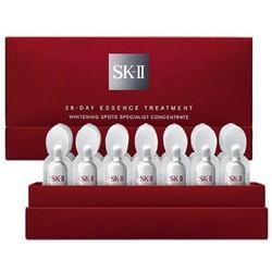 Liệu trình làm trắng trị thâm nám tàn nhang SKII Whitening Spots 28D