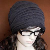 Mũ len trùm đầu nam, nữ nếp nhắn độc đáo, phong cách cá tính, hiện đại