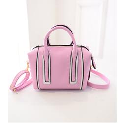 Túi xách đẹp viền 2 màu thời trang trẻ trung quyến rũ màu hồng