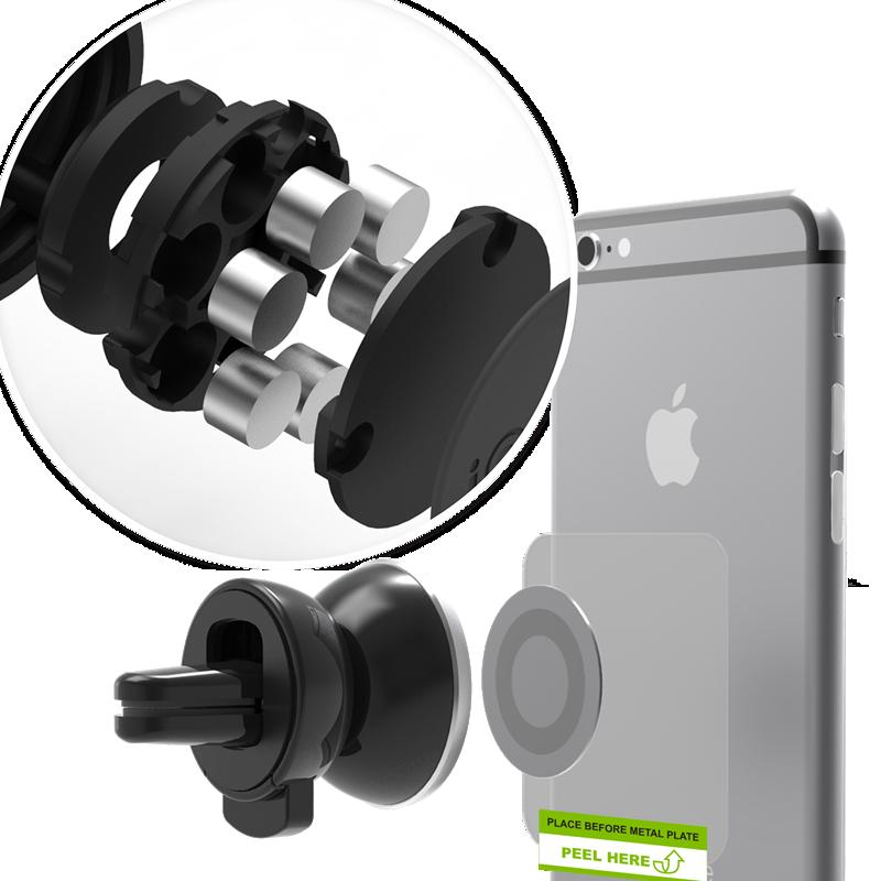 Giá treo điện thoại cao cấp từ tính iTap - iOttie 2