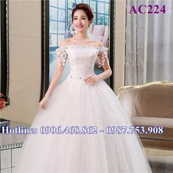 Áo cưới tinh khôi AC224