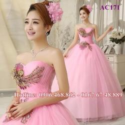 Áo cưới màu AC171