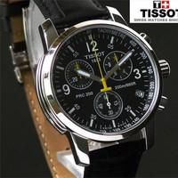 Đồng hồ Tissot dây da cao cấp. chống nước