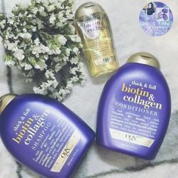 Bộ Dầu Gội, Xả Biotin và Collagen chống rụng tóc,kích thích mọc tóc