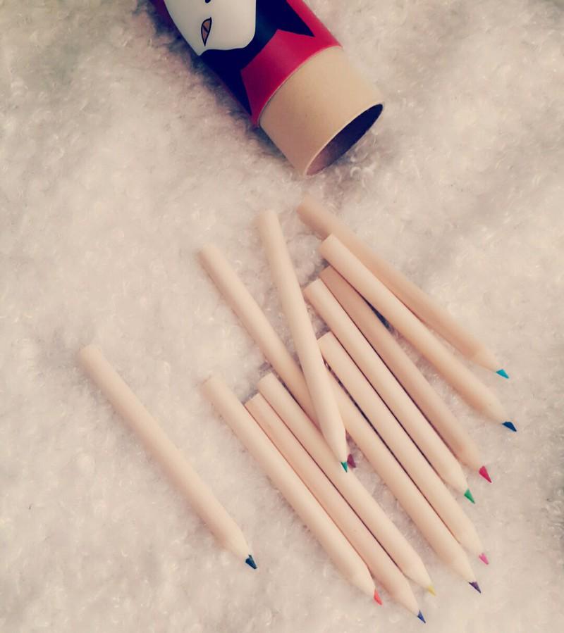 Bút chì màu gỗ Vintage 3