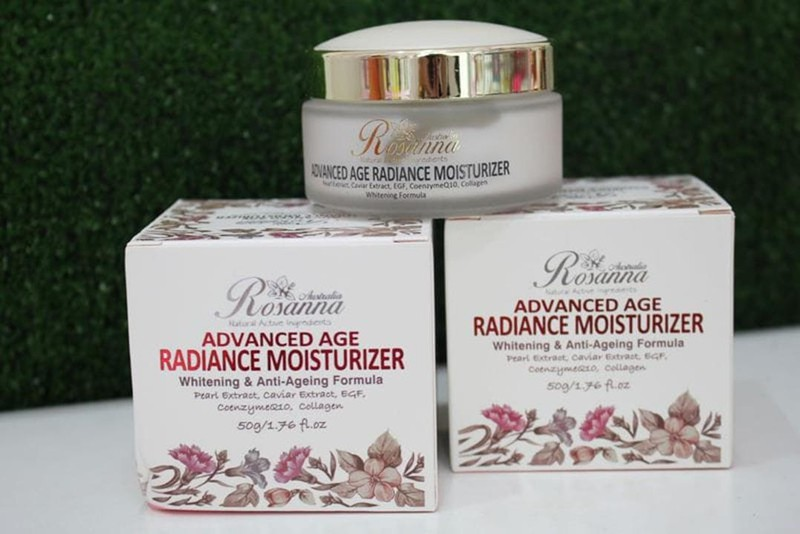 Kem trắng da và chống lão hoá  Rosanna Advanced 2