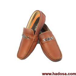 Giày mọi nam chữ H da bò cao cấp handmade MCH-NDO