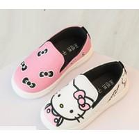 Giày trẻ em slip on kitty