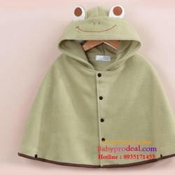 Áo choàng ếch 3 lớp