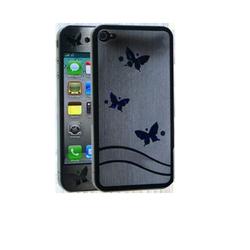 Miếng dán màn hình icover cho iPhone 4s -Trắng trong butterfly
