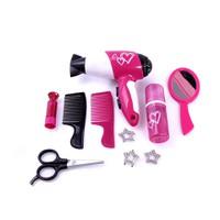Bộ dụng cụ đồ chơi trang điểm design tóc 10 món cho bé