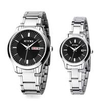 Đồng hồ cặp đôi EYKI - Tặng kèm cài áo xinh cho nữ