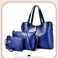Bộ ba túi xách da thời trang - TX028