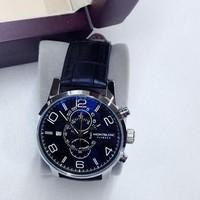 Đồng hồ Montblanc Flyback dây da super fake MB1689LB