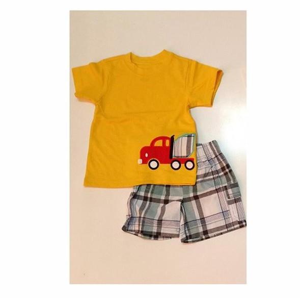Bộ áo thun quần kaki Carter cho bé trai 1-7T 3