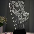 Đèn led 3D tình yêu
