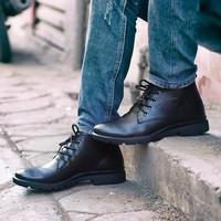 Giày da cao cổ Dr.martens dáng công sở trẻ trung