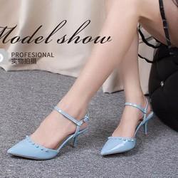 Giày cao gót nữ thời trang, kiểu dáng thanh lịch trẻ trung, nữ tính