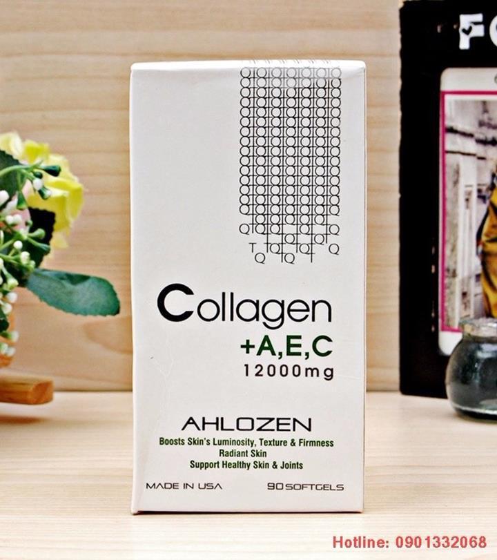 VIÊN UỐNG COLLAGEN +AEC MỸ 2