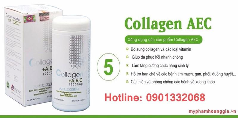 VIÊN UỐNG COLLAGEN +AEC MỸ 1