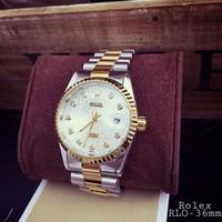 Đồng hồ Rolex Demi, đặc nặng