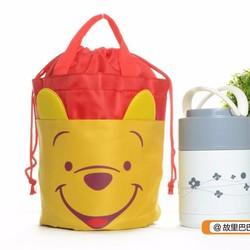 Túi cơm chống sốc hoạt hình cực cute