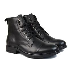 Giày da cao cổ trẻ trung, năng động đế tăng chiều cao 5cm