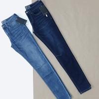 Quần Skinny Demin Zara trơn
