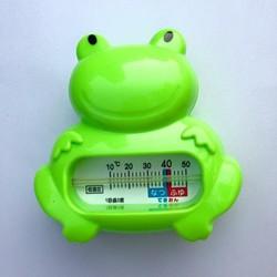 Nhiệt kế đo nhiệt độ nước tắm hình ếch Xanh