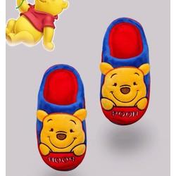 Dép lông gấu Pooh đi trong nhà hàng chính hãng Disney