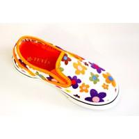 Giày vải cho bé gái hoa