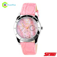 Đồng hồ Nữ Skmei 6911 xà cừ DHA132-D0378 - Hồng