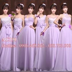 Váy cưới màu AC190