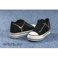 Giày bata hai khóa kéo SB013