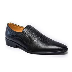 Giày da công sở vân cá sấu sang trọng, lịch lãm