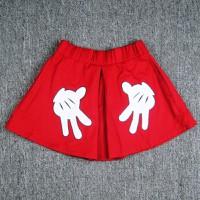 Váy kaki đỏ in hình bàn tay 12651