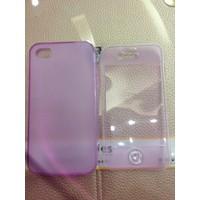ỐP Iphone4 dẻo 2 mặt