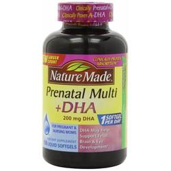 Thuốc bổ cho bà bầu Prenatal Multi và DHA Nature Made 150 viên USA.