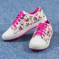 Giày bata in hoa SB021
